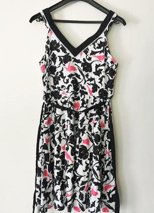 Симпатичный сарафан, платье-сарафан из хлопка