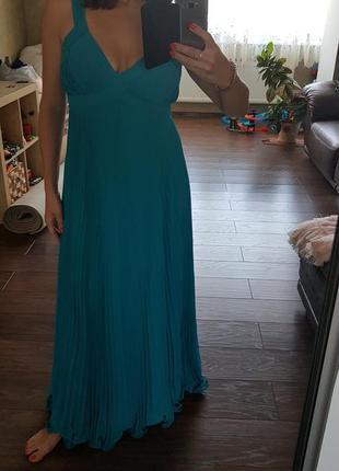 Шикарное вечернее платье м