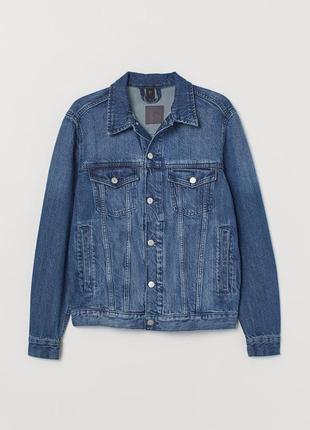 Мужская джинсовая куртка3 фото