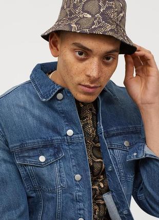 Мужская джинсовая куртка5 фото