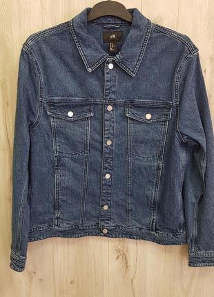 Мужская джинсовая куртка6 фото
