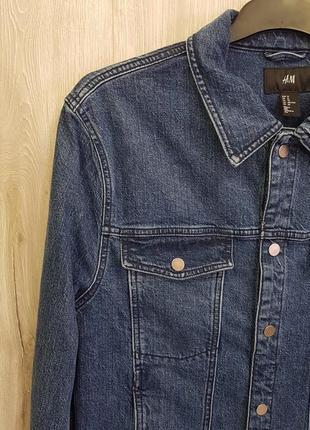 Мужская джинсовая куртка7 фото