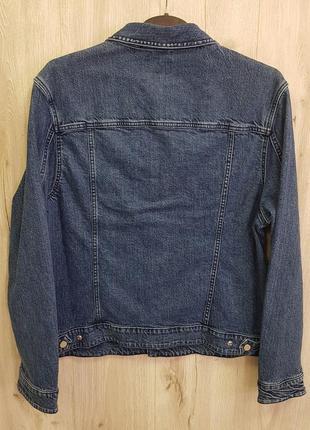Мужская джинсовая куртка8 фото
