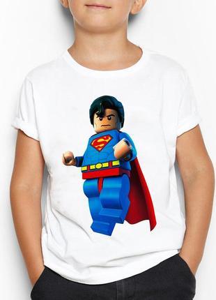 Детская футболка с принтом лего