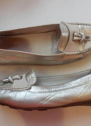 Кожаные туфли балетки geox 41р