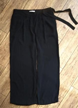 Широкие брюки кюлоты палаццо от clochouse