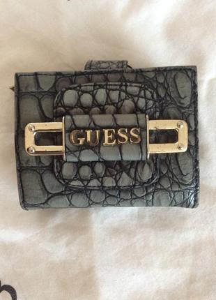 Компактный кошелёк guess  оригинал