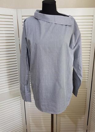 Стильная блуза рубашка в полоску flory day