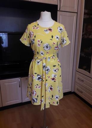 Платье из льна льняное платье