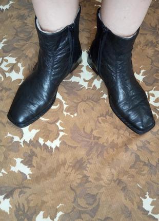 c8b0eefd9 Кожаные зимние полу сапоги,полу сапожки,сапоги,ботинки,сапожки,овчина,