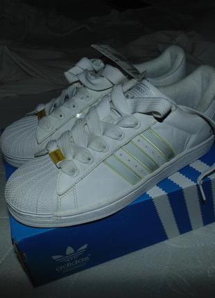 Кроссовки adidas adicolor w5 superstar ii оригинал белая версия абсолютно новые коробка