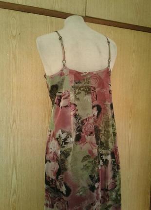 Платье из мелкой трикотажной сетки, xl.6 фото