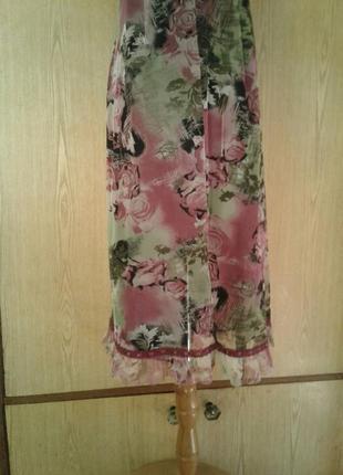 Платье из мелкой трикотажной сетки, xl.7 фото