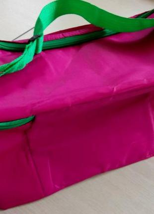 Термо сумка на длинном ремешке