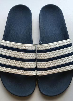 Новые шлепки сланцы сандалии вьетнамки adidas adilette оригинал