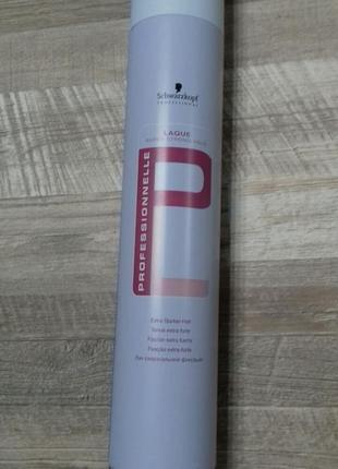 Лак для волос сверхсильной фиксации schwarzkopf  500 мл