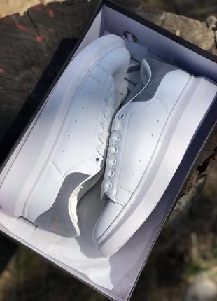 Стильные кроссовки ❤ alexander mcqueen gray ❤