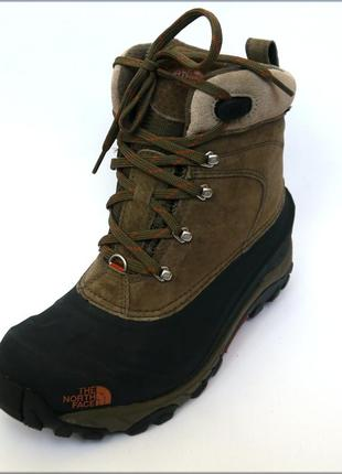Зимние ботинки north face chilkat водонепроницаемые теплые оригинал 42
