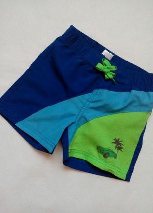 Шорты-плавки пляжные для мальчика pusblu германия