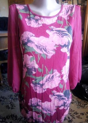 Туника, длинная блузка