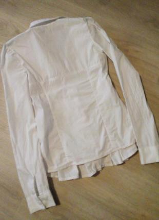 Белая рубашка италия6 фото