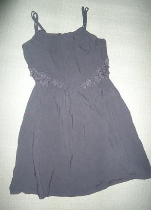 Платье divided by h&m с красивыми полуоголенными ажурными боками