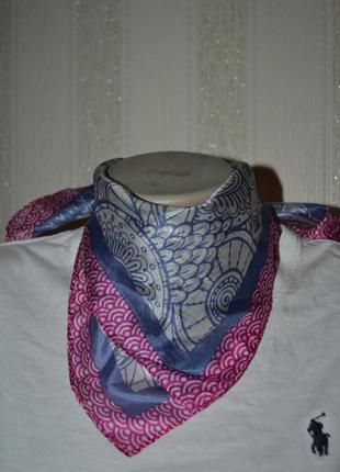 Шелковые шейные платки