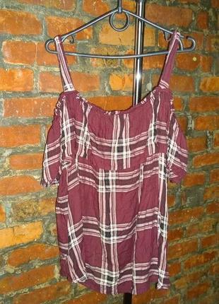 Обновка каждый день! блуза кофточка с рюшей new look