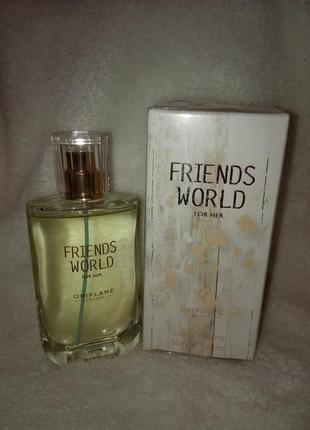 Туалетна вода friends world for her [френдс ворлд фо хе]