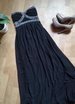 Вечернее платье в пол, р xs-  s