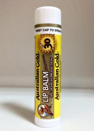 Lip balm australian gold универсальный бальзам для губ солнцезащитный