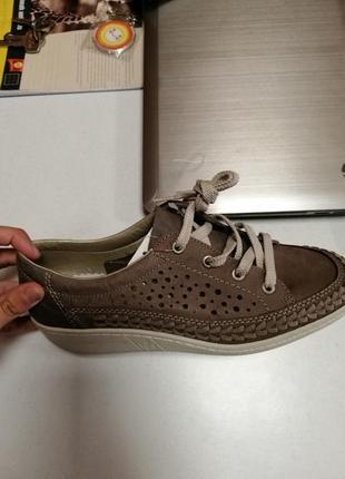Шкіряні жіночі кросівки rieker