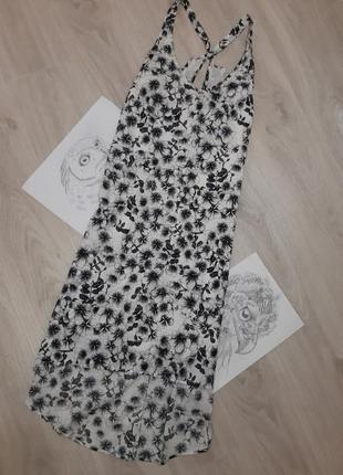 Сукня з принтом квітів h&m, p.m
