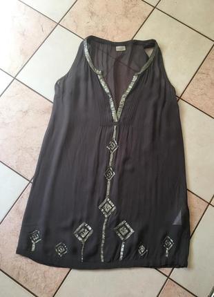 Платье свободное воздушное вискоза