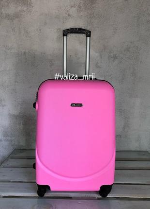 Качественный чемодан bagia, якісна валіза, велика валіза