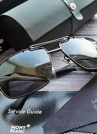 Мужские очки mont blanc в пленке комплект