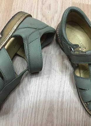 Босоножки сандалии натуральная кожа angulus
