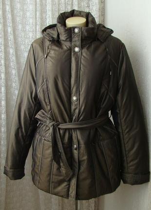 Зимняя куртка с капюшоном icebear р.52 №7126