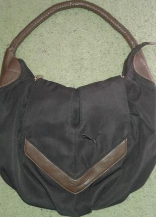 Красивая и модная сумка с одной ручкой  puma.