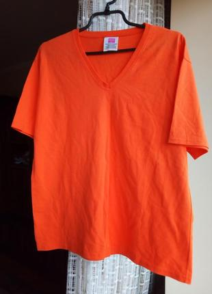 Трендова універсальна неонова класична футболка унісекс обмін чи продаж/неоновая футболка