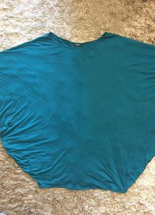 Трикотажный блузон большого размера