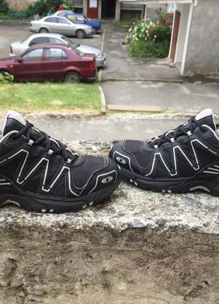 Оригинальные трекинговые кроссовки salomon caliber 307984 gore-tex