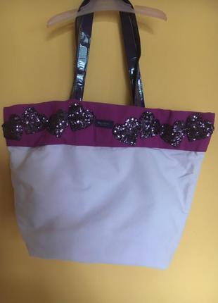 Пляжна сумка від vera wang