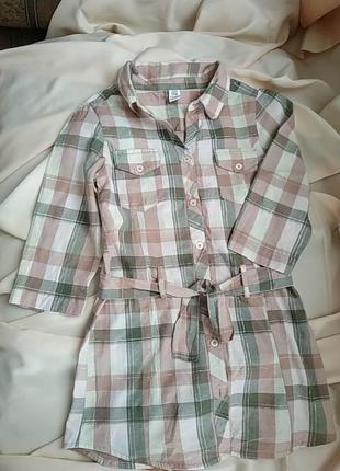 Рубашка-платье. 9-10 років.
