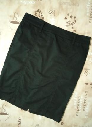 Jennyfer базовая черная юбка