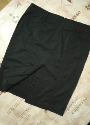 Jennyfer базовая черная юбка3 фото