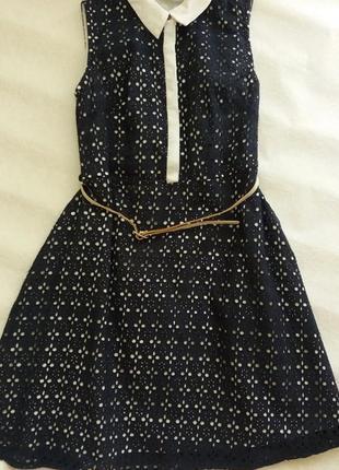 Красиве літнє котонове плаття  yumi