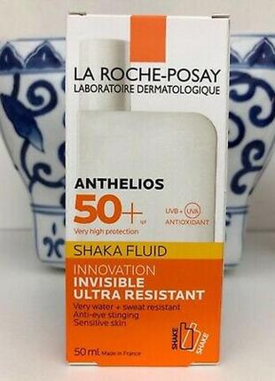 La roche-posay anthelios spf 50+ shaka fluid ultra resistant солнцезащитный флюид