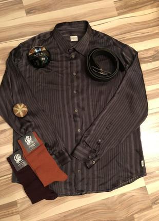 Шёлковая рубашка armani