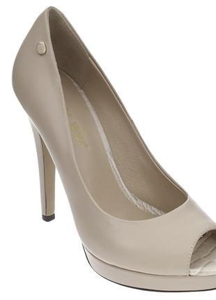 Шикарные туфли с открытым носком от antonio biaggi